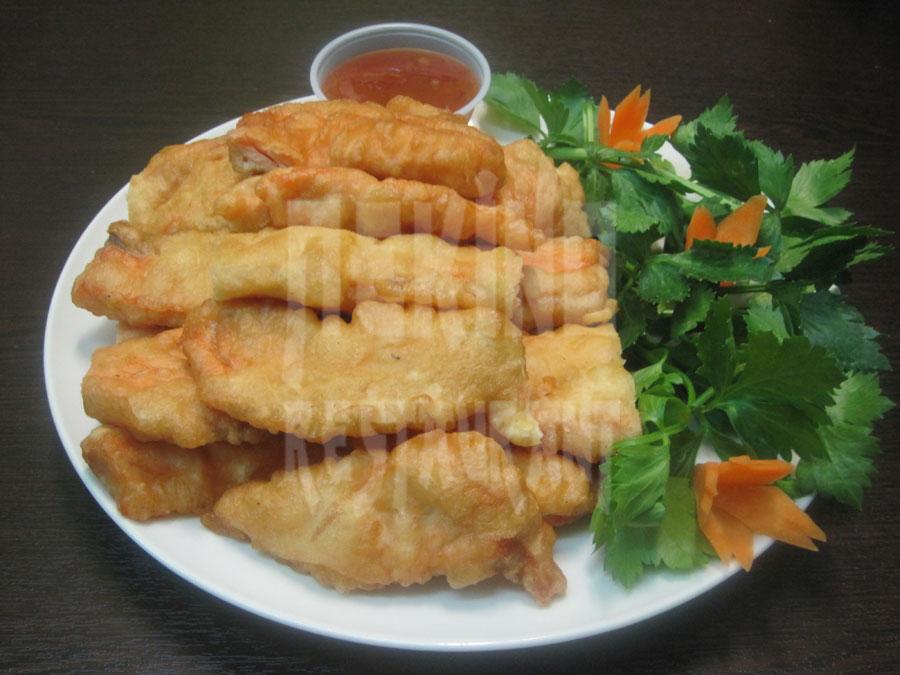 Βακαλάος Λουάν Τζα (τηγανητό)