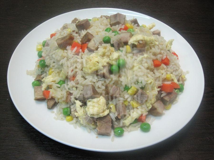 Τηγανητό ρύζι τσα σίου